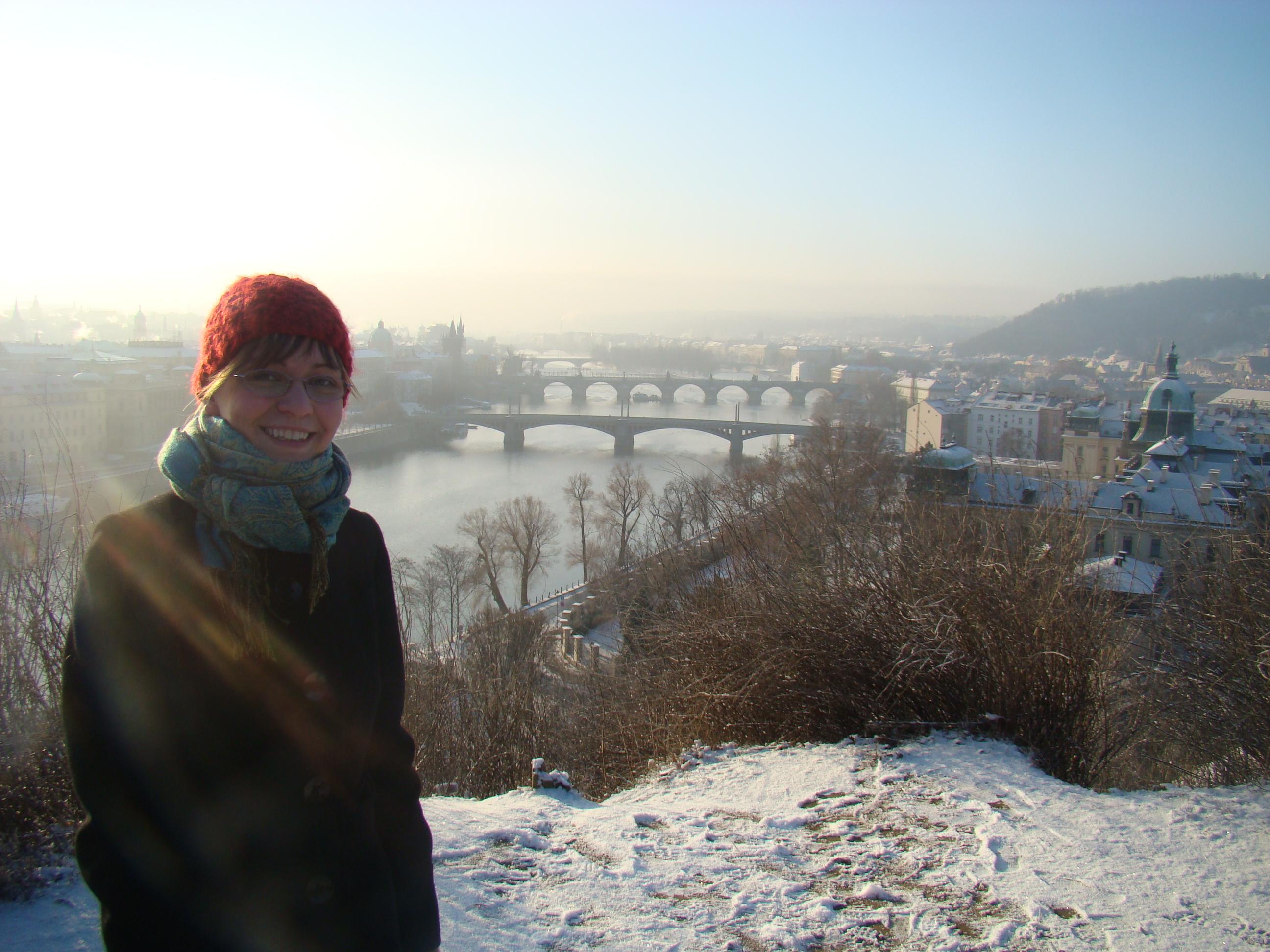 Ewa w Pradze