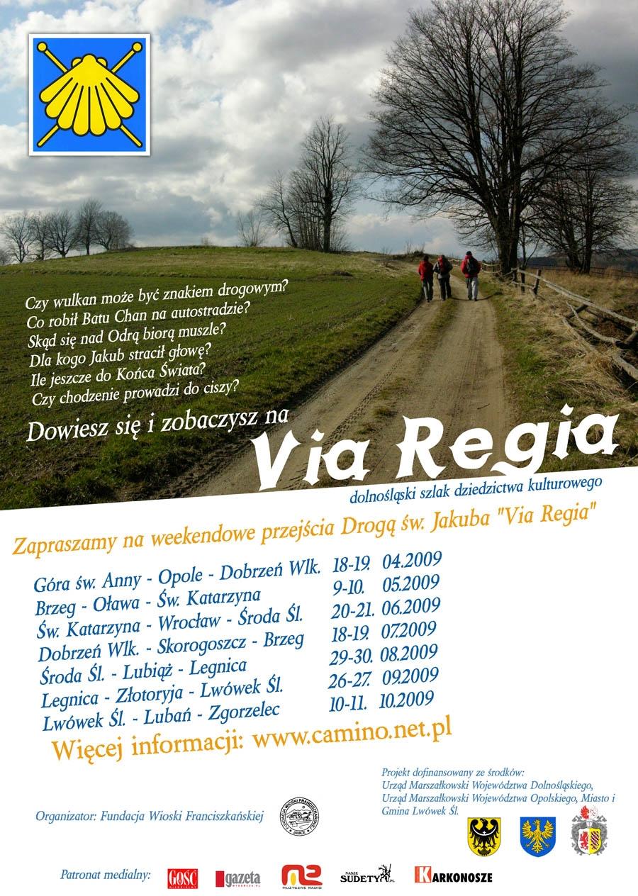 zaproszenie na Via Regia