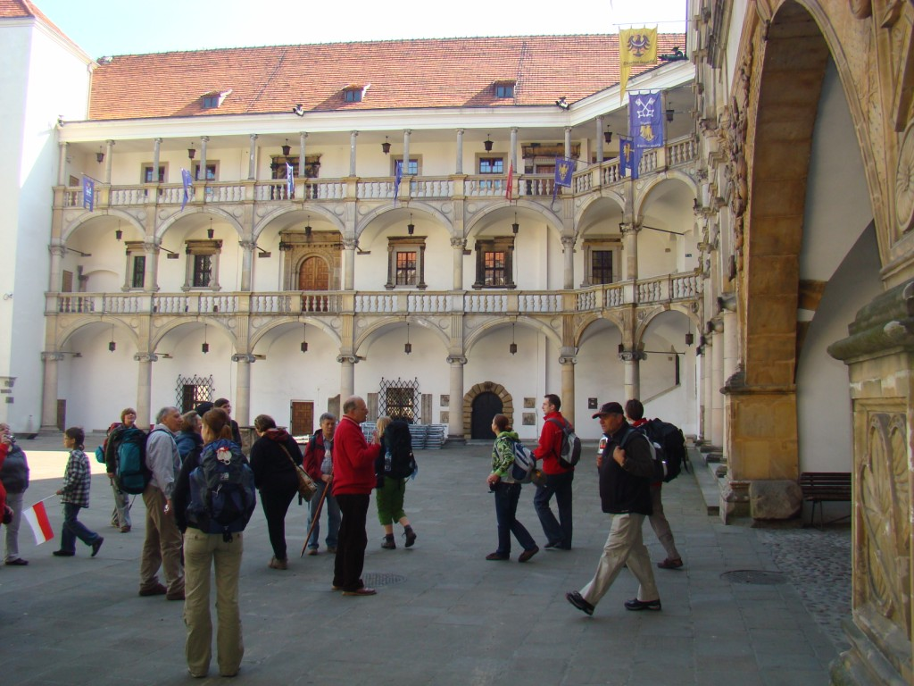 na zamku Piastów Śląskich