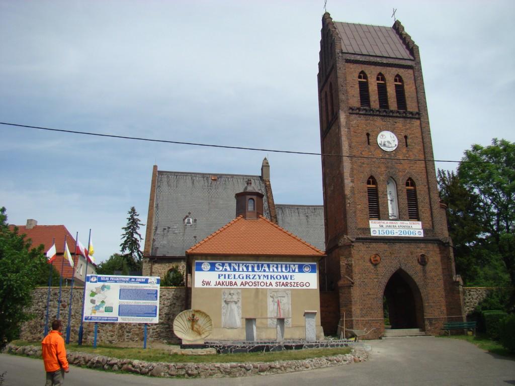 Sanktuarium od frontu