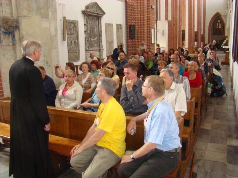 w kościele NMP na Piasku