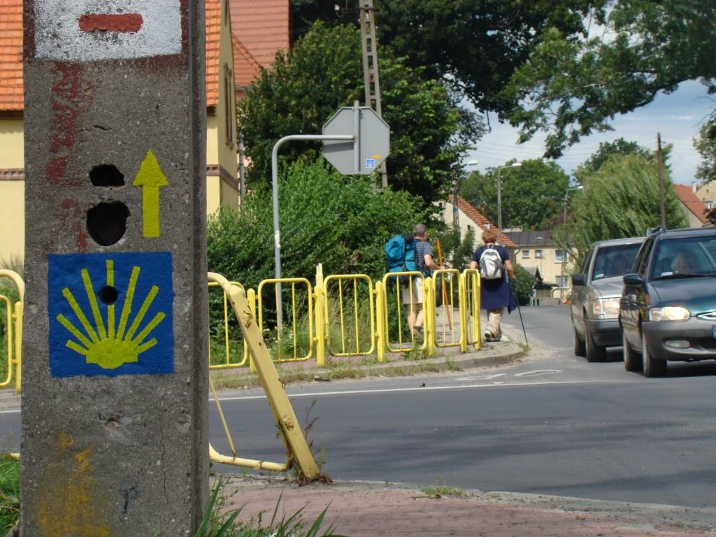 wejście do miasta