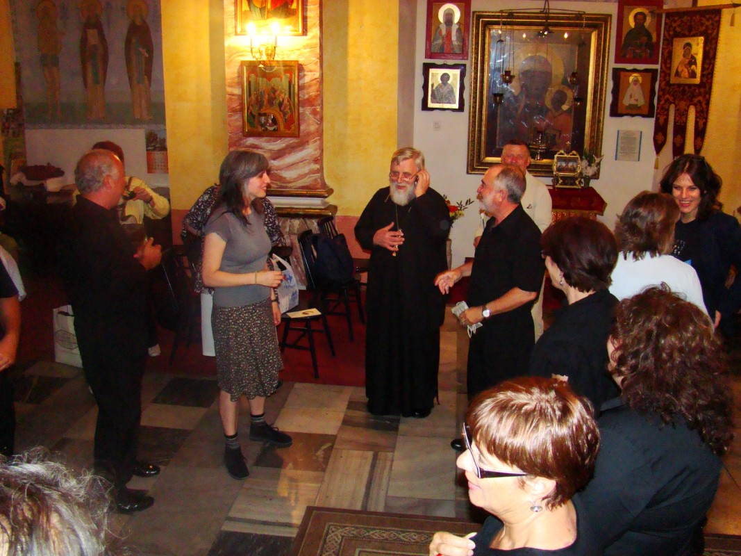 Julia Cea i zadowolony z występu ks.Mitrat
