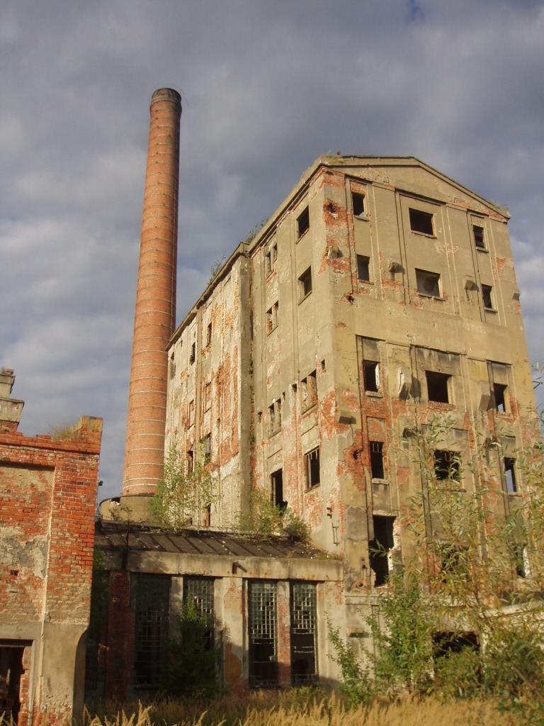 ruiny papierni w Malczycach