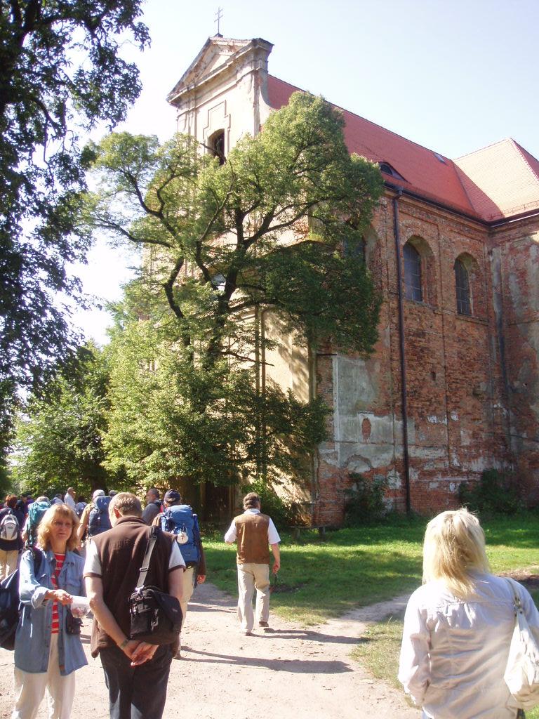 kościół św.Jakuba w Lubiążu