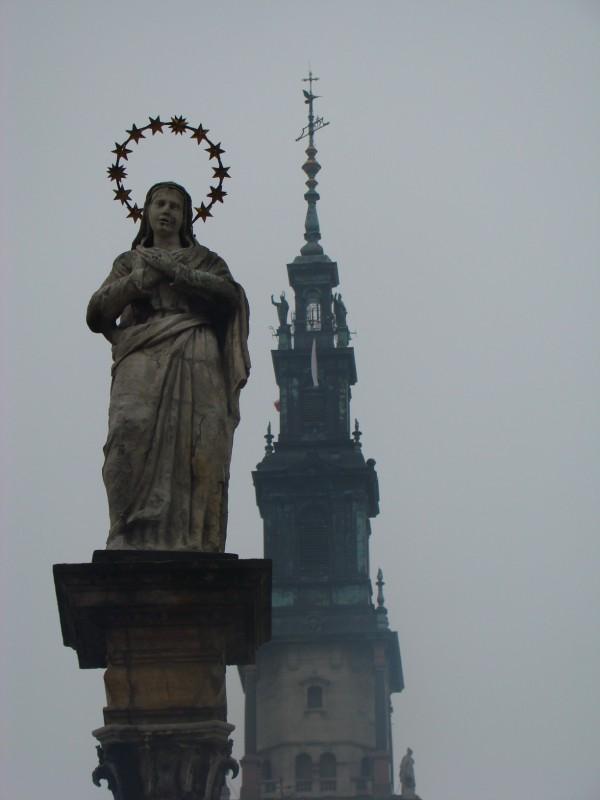 poranek w Częstochowie