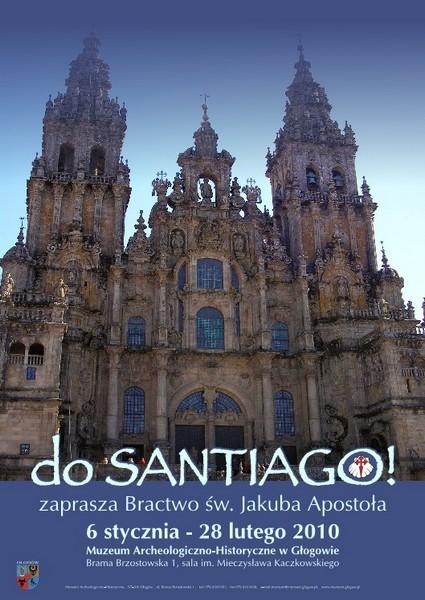 """plakat wystawy """"Do Santiago!"""""""