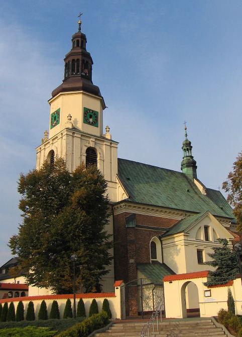 Krzepice, kościół swiętego Jakuba