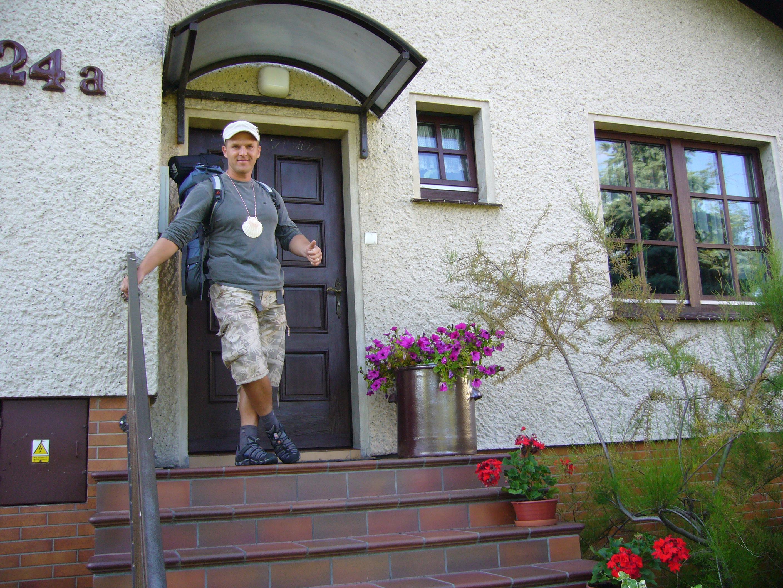 Pielgrzym w gościnie u Bogusi i Krzysztofa Tomczaków