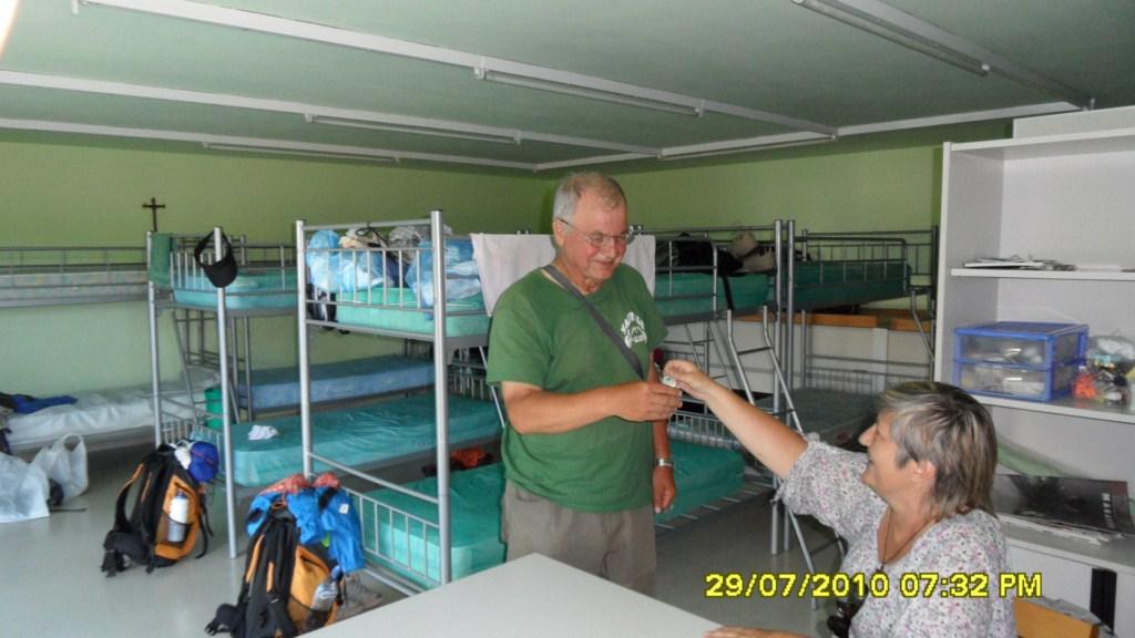 Polscy hospitaleros na Monte do Gozo