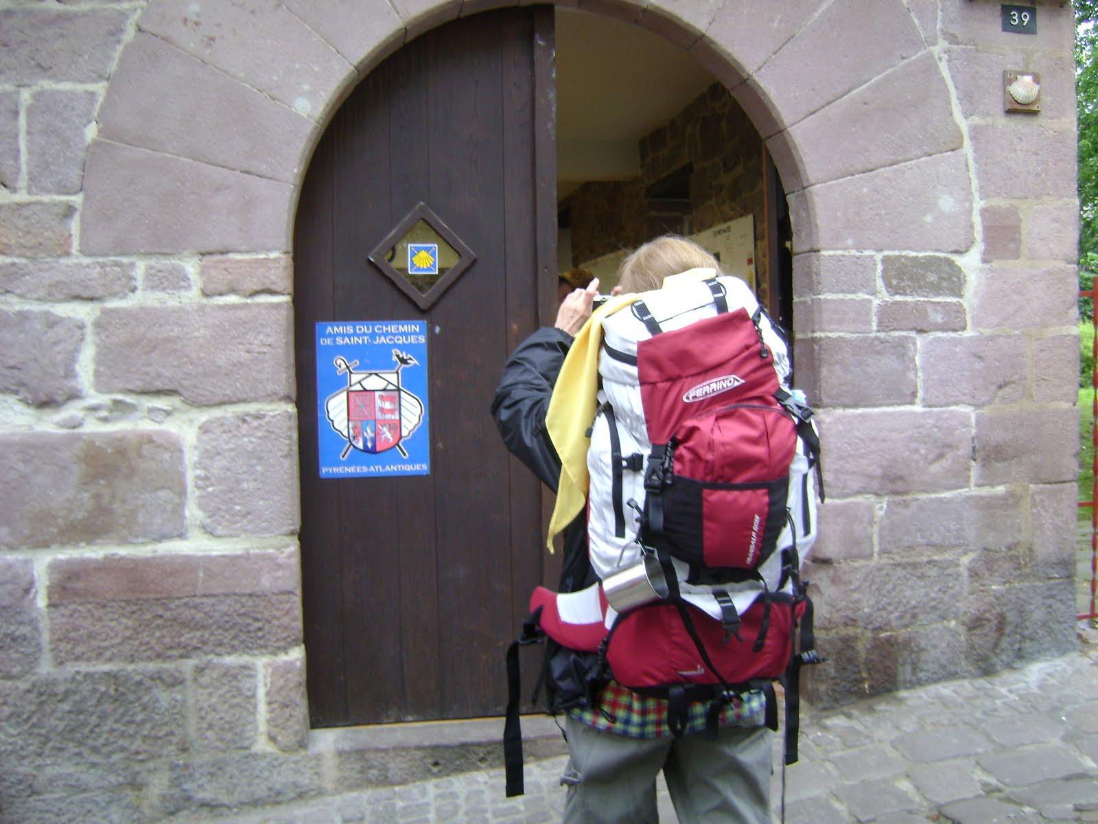 Saint Jean PIed de Port- biuro pielgrzyma