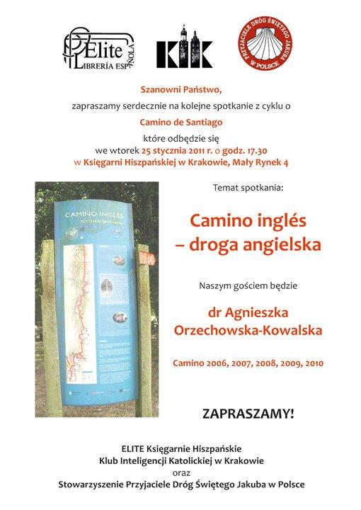 camino ingles w księgarni hiszpańskiej