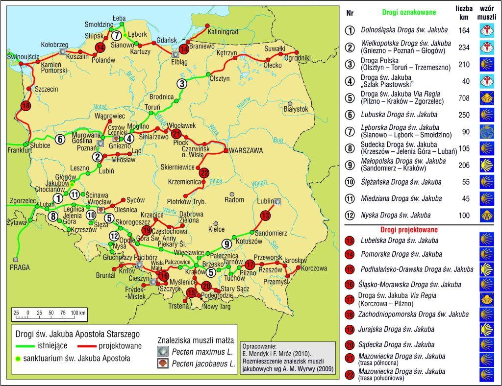 Szlak św. Jakuba w Polsce 2010
