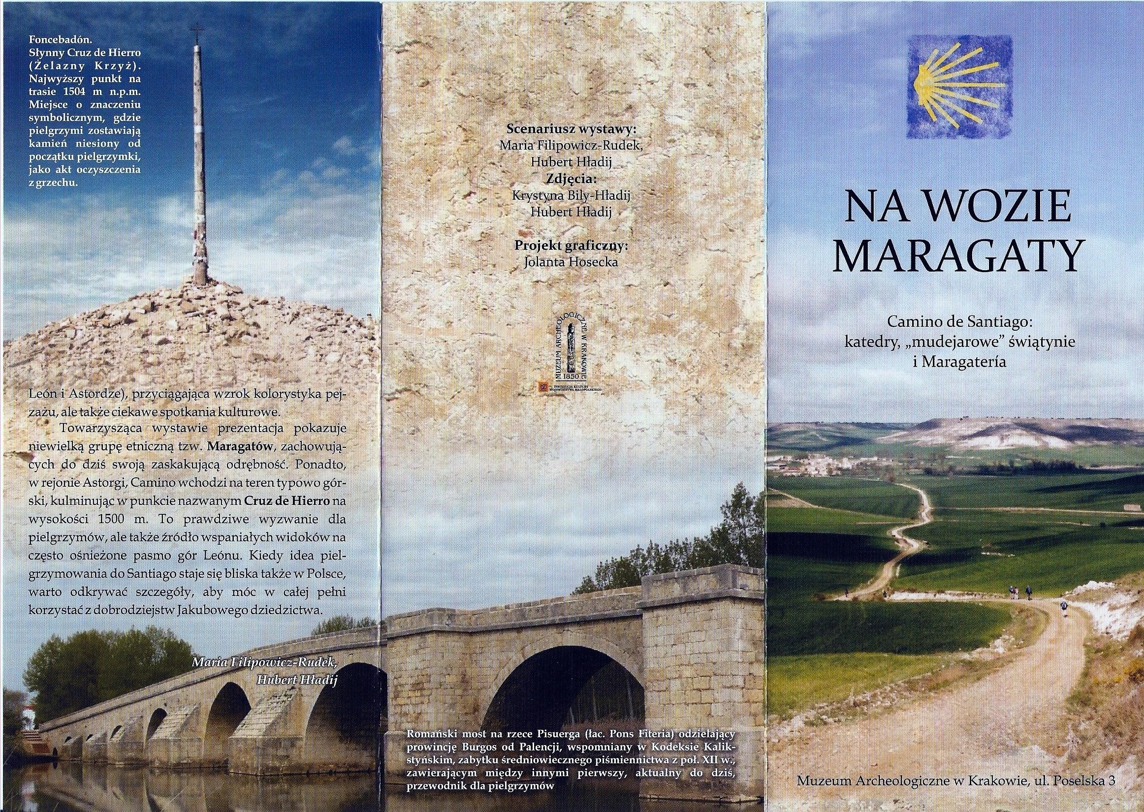 Wystawa Camino de Santiago- okładka 1