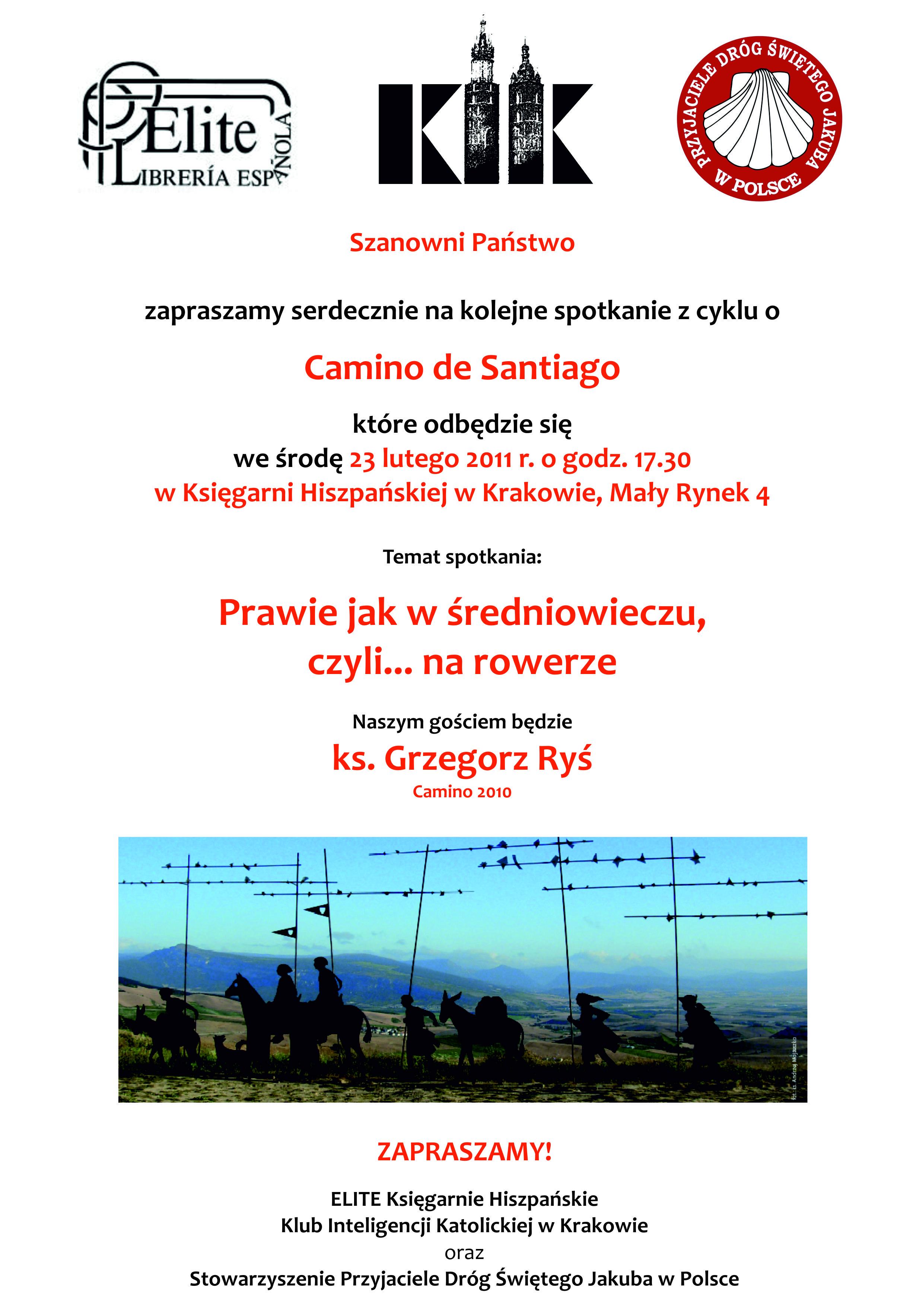 camino de santiago jak w średniowieczu