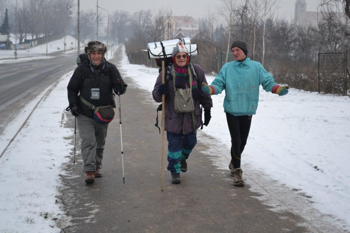 W drodze na beatyfikację zimą