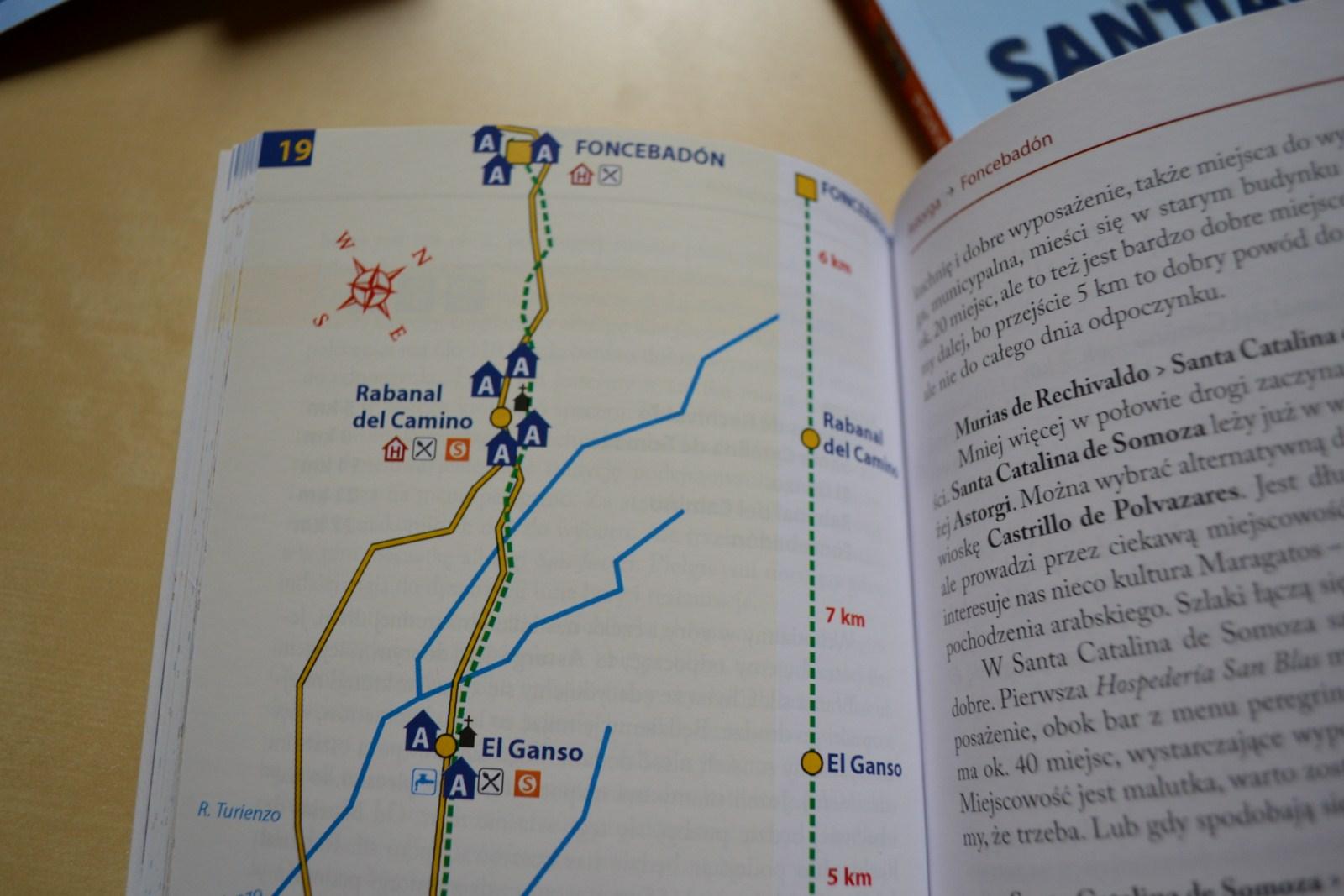 przewodnik camino mapa