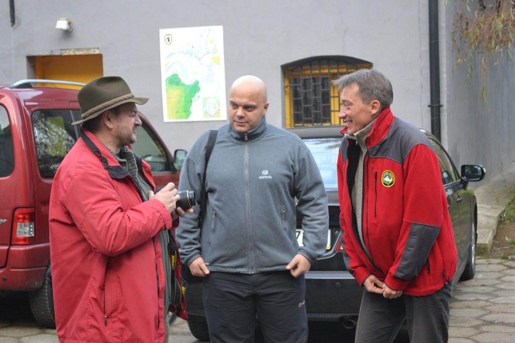 Helmut, Mirek i Emil