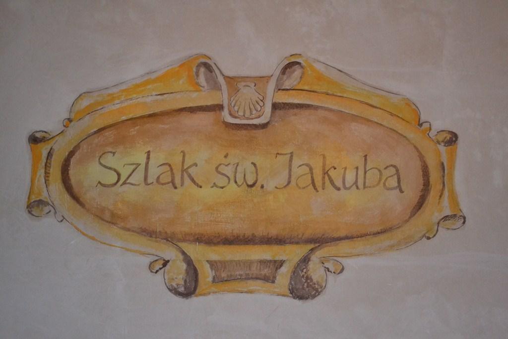 Szlak św. Jakuba fresk
